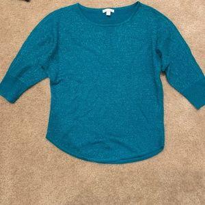 New York & Company Sparkly Holiday Sweater